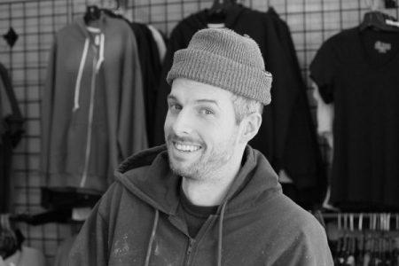 Kory Prescott, Screenprinter at Mega Screen